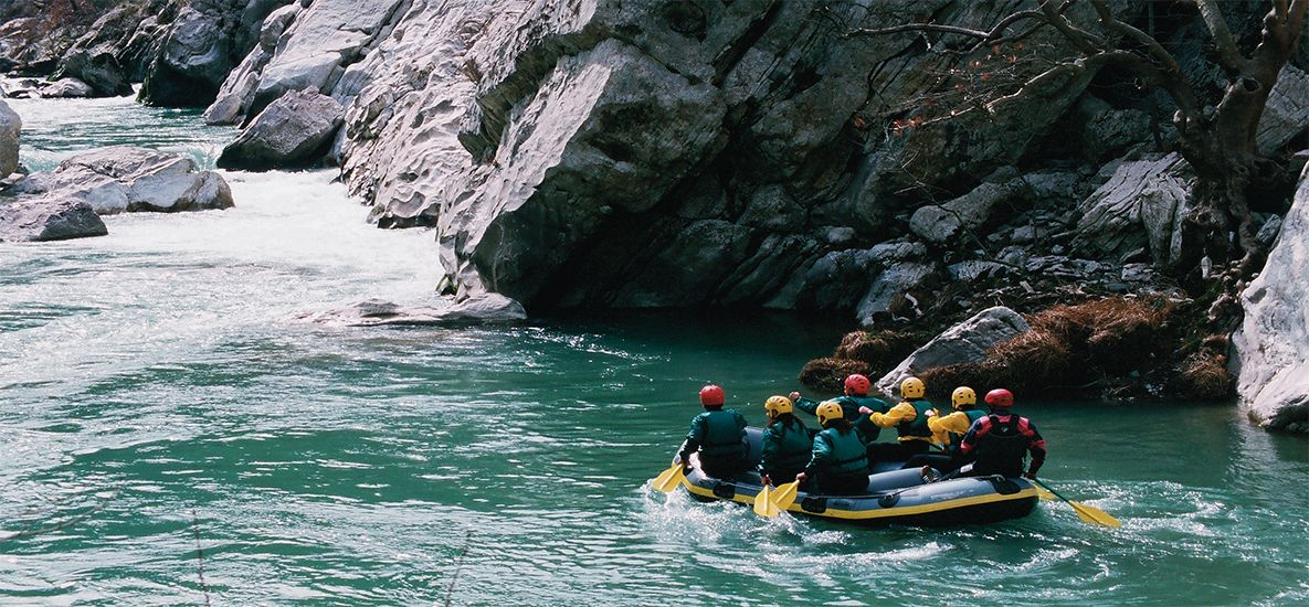 River Trekking in Greece!