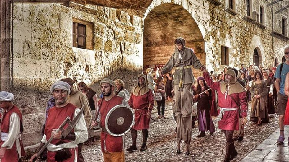 The Medieval Rose Festival 2018 in Rhodes!